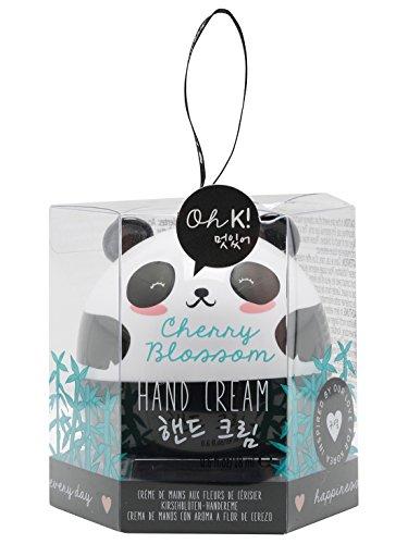 M & Co NPW Oh K. Caractère Cerise Fleur parfumée en forme de panda mini main Crème - multicolore - Taille unique
