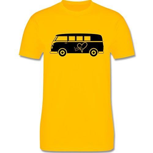Autos - Bus T1 - Herren Premium T-Shirt Gelb