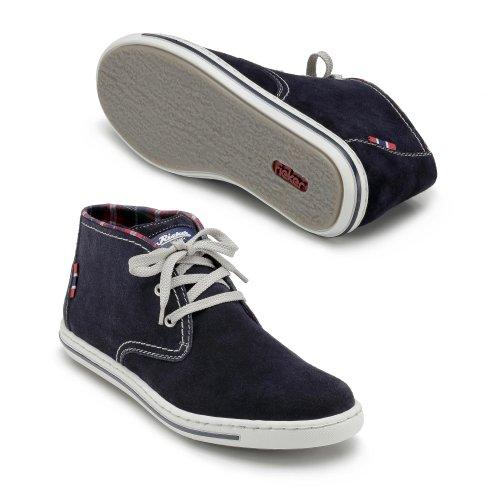 Rieker 39010-14 hommes Sneaker Bleu