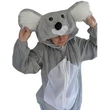 Koala-Bär Kostüm, J42, Gr. M-L, Fasnachts-Kostüme Tier-Kostüme, Koala-Kostüme Koala-Bären für Fasching Karneval Fasnacht, Geschenk für Erwachsene