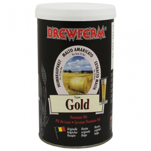 Kit à bière Brewferm gold pour 12 l