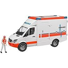 Bruder MB Sprinter Ambulanz mit Fahrer