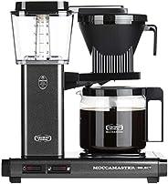 Moccamaster CD överflöde kaffemaskin KBG 741 utvald sten grå, grafit