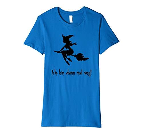 Damen Hexe mit lustigen Spruch, Ideales Geschenk für Frauen
