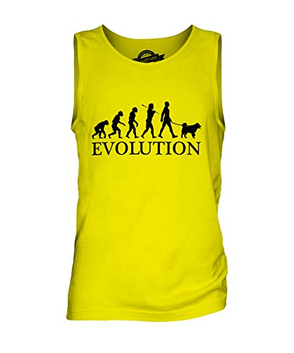 candymix-siberian-husky-evoluzione-umana-canotta-da-uomo-taglia-2x-large-colore-giallo-limone