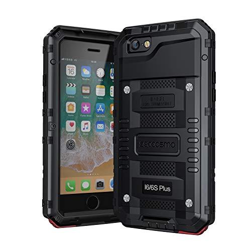 seacosmo iPhone 6 Plus Wasserdicht Hülle, Militärstandard