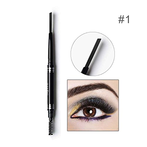 Republe IMAGIC 5 Style Double-usage Crayon à Sourcils Automatique Imperméable À L'eau Sourcils Sourcils Crayon Liner Pen