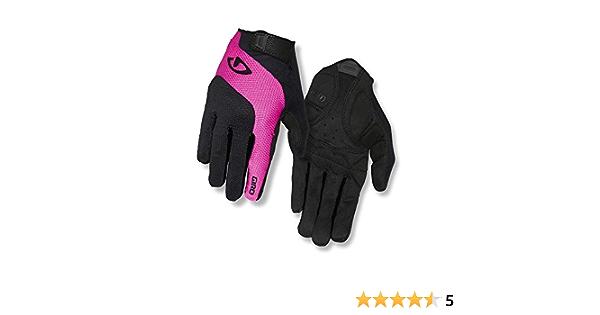 Giro Tessa Gel LF Gants de Cyclisme pour Femme Noir//Rose Taille L