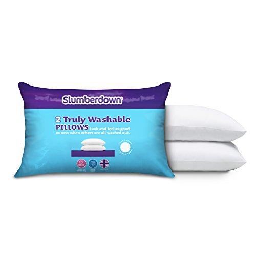 slumberdown-truly-washable-pillows-x2