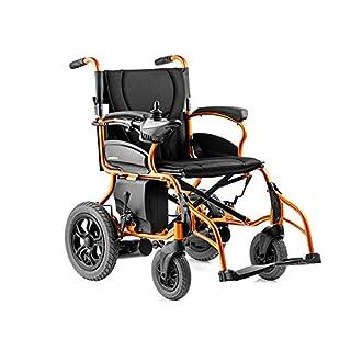 Elektrischer Rollstuhl, Elektrischer Faltbarer Rollstuhl Leichter Voller Intelligenter Elektrorollstuhl Super Endurance-Sicherer Älterer Rollstuhl