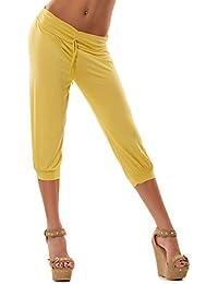 4ecf954fb5ea1 Toocool - Leggings pantaloni capri pinocchietti fitness sport donna tuta  palestra 3068