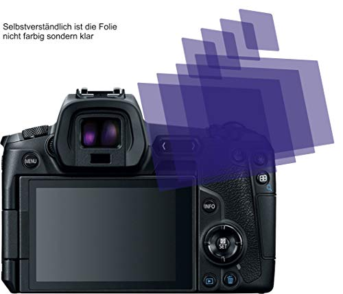 4X ANTIREFLEX matt Schutzfolie für Canon EOS R Displayschutzfolie Bildschirmschutzfolie Schutzhülle Displayschutz Displayfolie Folie Screen Protector