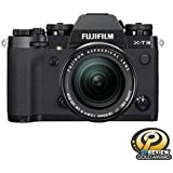 Fujifilm X-T3 Mirrorless Digital Camera (Black) with 18-55mm Lens Kit with Memory Card and Bag