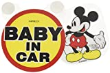 Disney Swing Message Mickey Baby in Car