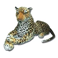 70cm lying leopard soft plush toy