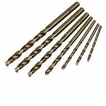 Silverline 598435 Cobalt Drill Bit Set, 1.5-6 mm - 7 Pieces