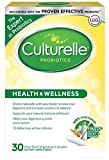 Culturelle Health & Wellness Daily Probiotic Dietary Supplement |Restores Natural Balance of Good Bacteria in Digestive Tract* | With #1 Proven Effective Probiotic | 30 Vegetarian Capsules