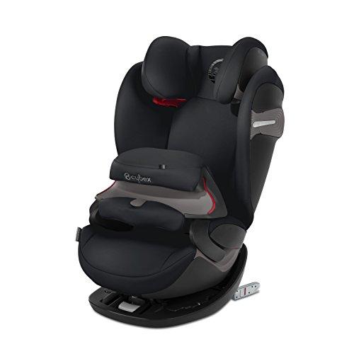 Preisvergleich Produktbild CYBEX Gold 2-in-1 Kinder-Autositz Pallas S-Fix, Für Autos mit und ohne ISOFIX, Gruppe 1/2/3 (9-36 kg), Ab ca. 9 Monate bis ca. 12 Jahre, Lavastone Black