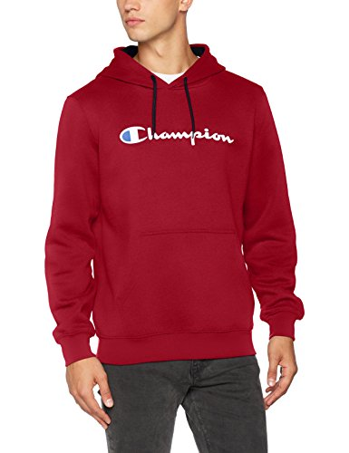 Champion Herren Kapuzenpullover Hooded Sweatshirt-Institutionals, Rot (Cmr), XX-Large (Hooded Armee Sweatshirt)