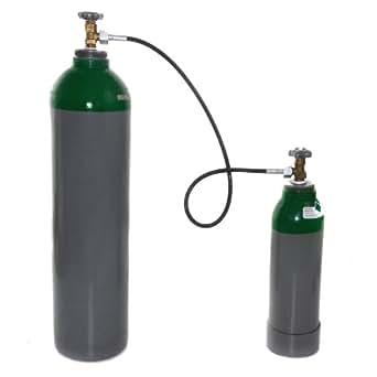 L denbach tuyau flexible pour bouteille de gaz argon co2 for Tuyau de gaz bouteille