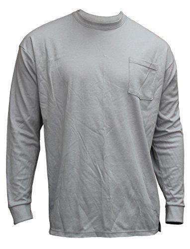chicago-protective-apparel-610-frc-ls-g-2xl-truecomfort-knit-fr-long-sleeved-t-shirt-xx-large-grey-b