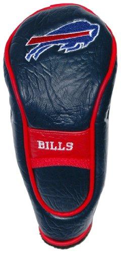 Team Golf NFL Hybrid-Golfschlägerhaube, Haken- und Schlaufenverschluss, Veloursfutter für zusätzlichen Schlägerschutz, Herren,Unisex-Erwachsene, Damen, Buffalo Bills, One Size Fits All -
