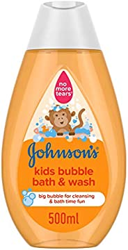 جونسون سائل استحمام وغسول فقاعات للصغار، 500 مل