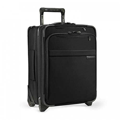 Briggs & Riley Baseline Commuter Expandable Upright, 50cm, 45.6 litres, Black