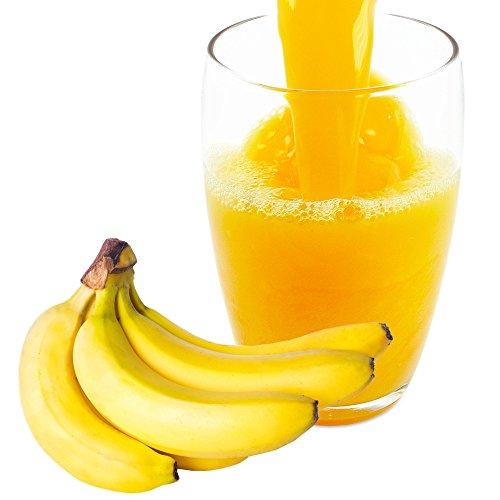 Bananensaft Pulver - Bananen Fruchpulver - aus 100 % Frucht mit Maltodextrin 1 Kg (Pulver-brunnen)