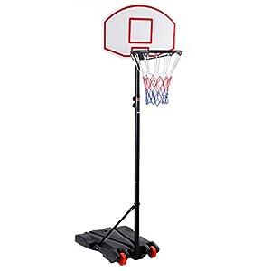 COSTWAY Basketballständer Basketballkorb mit Ständer Basketballanlage...