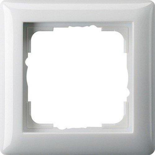 Gira 21103 Rahmen 021103 1fach Standard 55 reinweiss, 1-Fach