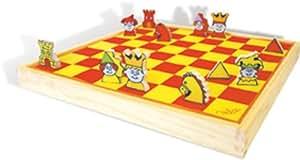 Vilac - 6123 - Jeux de Société - Mon premier jeu d'échec