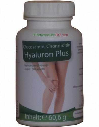 Hyaluron Plus Glukosamine, Chond. und Ackerschachtelhalm 60 Kps e60,6g (Vitamin Plus Melatonin)