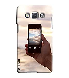 Omnam View Clicked On Iphone Printed Designer Back Cover Case For Samsung Galaxy E7