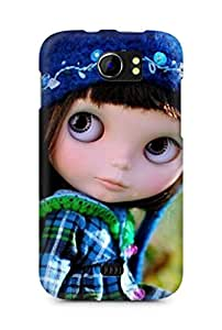Amez designer printed 3d premium high quality back case cover for Micromax Canvas 2 A110 (Super Dollfie)