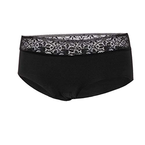 URSING Unterhosen Damen String Sexy Tanga Unterwäsche Atmungsaktive Unterhosen Panties Hipster Lace Patchwork Stringtanga Bikini Lingerie Bikinislip - 2