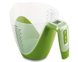 Städter 853102 verre doseur balance électrique (vert)