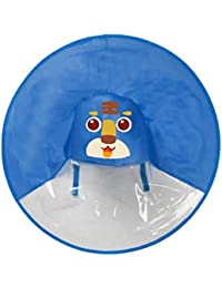 JYC Impermeable Capa Dibujos Animados Abrigos Pato Niña Niño Plegable Capa Mágico Manos Abrigos para La Nieve, Pequeño Tigre Impermeable Lonas Paraguas Conformado Lluvia Sombrero Pequeño