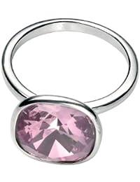 Perfect Sparkling Design with Pink Swarovski Elements Gemstone Sterling Silver