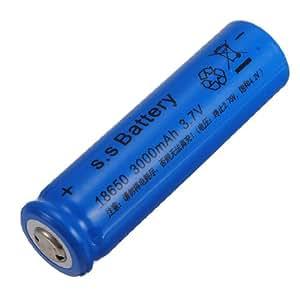 Batterie Rechargeable pour Jouets lampe de Poche Cam eacute; ra 18650 3000 mAh 3.7 V