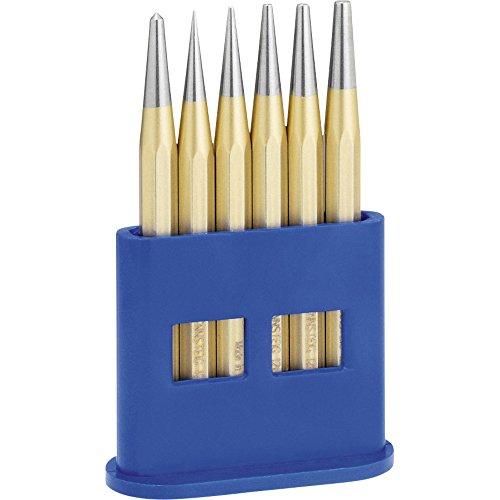 RENNSTEIG Durchschläger-Satz achtkant DIN 6458 6-teilig in Box, 1 Stück, 4241200