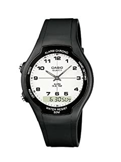 Casio Unisex Analogue Quartz Watch with Resin Strap AW-90H-7BVEF (B004N86BWG) | Amazon price tracker / tracking, Amazon price history charts, Amazon price watches, Amazon price drop alerts
