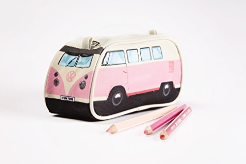 VW - Estuche para lápices, color rosa