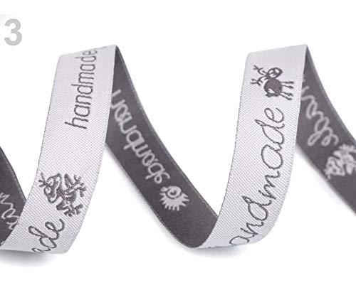 Igel Muster Kostüm - 9m 3 Weiß Webband Handmade 16mm Breit, Webbänder - Anderes, Besatzbänder, Trachtbänder Und Paspelbänder, Kurzwaren