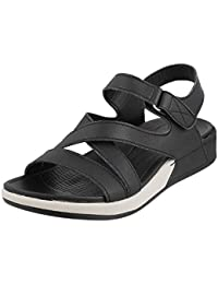 MOCHI Women BLACK Synthetic Sandals ( 33-132 ) 33-132-11-BLACK