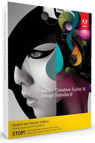 Adobe Creative Suite 6 Design Standard Student and Teacher englisch