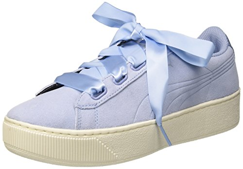 Image is loading Puma-Womens-Vikky-Platform-Ribbon-S-Low-Top- 217ea856c