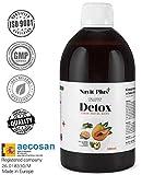 Detox adelgazante | Diurético potente natural líquido 500ml sabor...