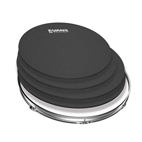 Evans SO 0244 Kit di Sordine SoundOff per Batteria Fusion 10