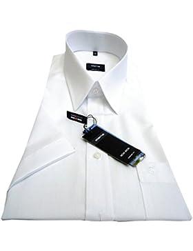 Hemd kurzarm, normal cm Armlänge, Größe 43 von eterna